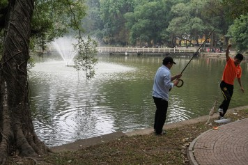 fishing-in-botanical-garden-hanoi-vietnam