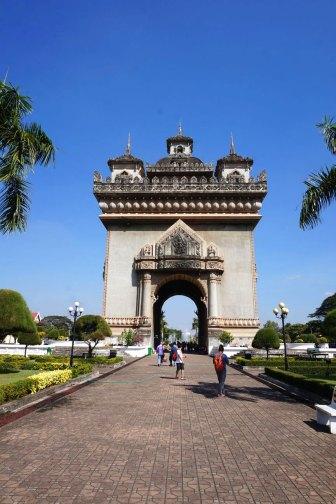 Patouxai, l'arc de triomphe de la ville