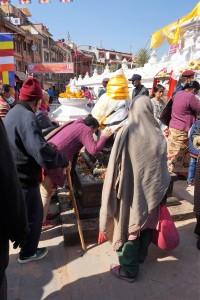 Népal, Stupa de Bodnath, Katmandou