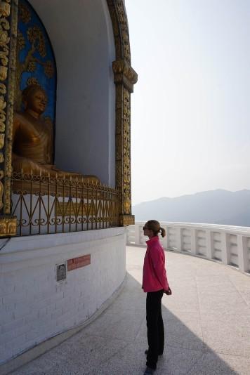 view-buddha-pokhara-peace-temple-nepal