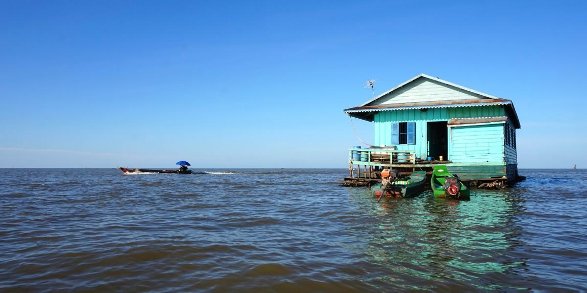 Kompong Luong, la vie sur le Tonlé Sap