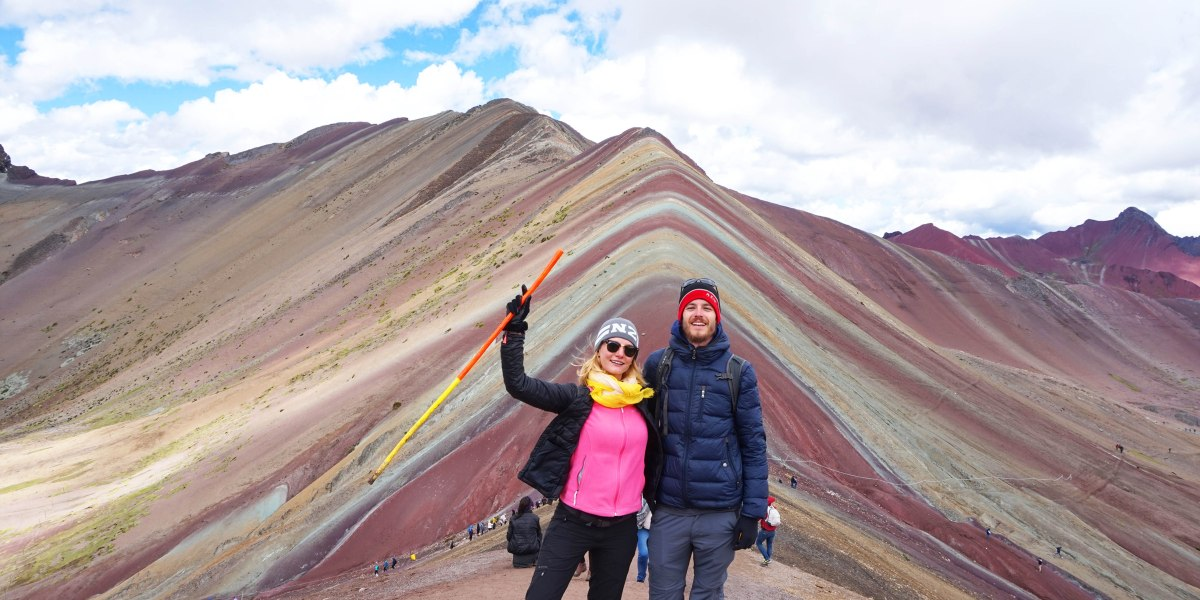Rainbow Mountain, on a marché sur un arc-en-ciel !