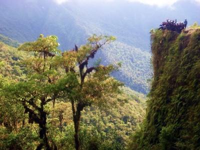 Bolivie La Paz Route de la Mort Yungas 105
