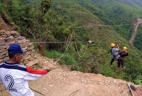 Bolivie La Paz Route de la Mort Yungas 113