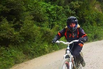 Bolivie La Paz Route de la Mort Yungas 114
