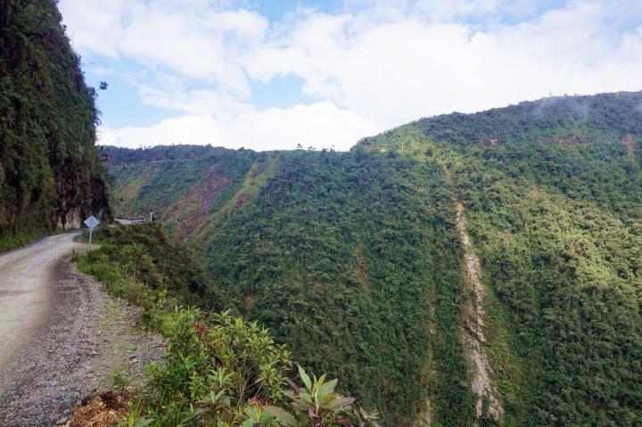 Bolivie La Paz Route de la Mort Yungas 35