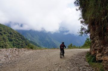 Bolivie La Paz Route de la Mort Yungas 47