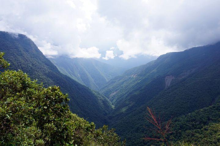 Bolivie La Paz Route de la Mort Yungas 49