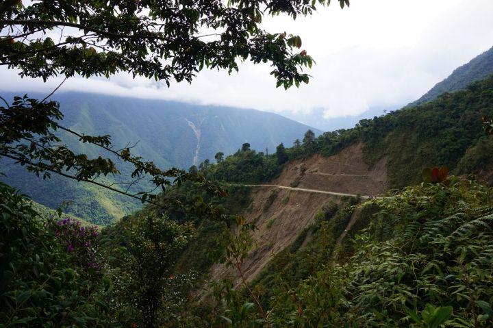 Bolivie La Paz Route de la Mort Yungas 51