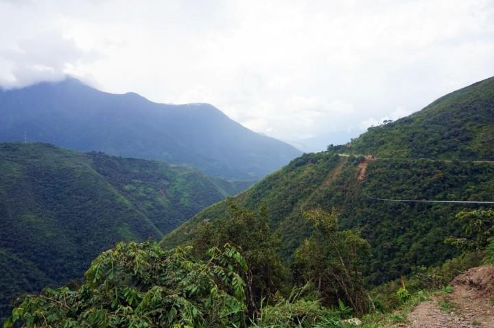 Bolivie La Paz Route de la Mort Yungas 54.JPG