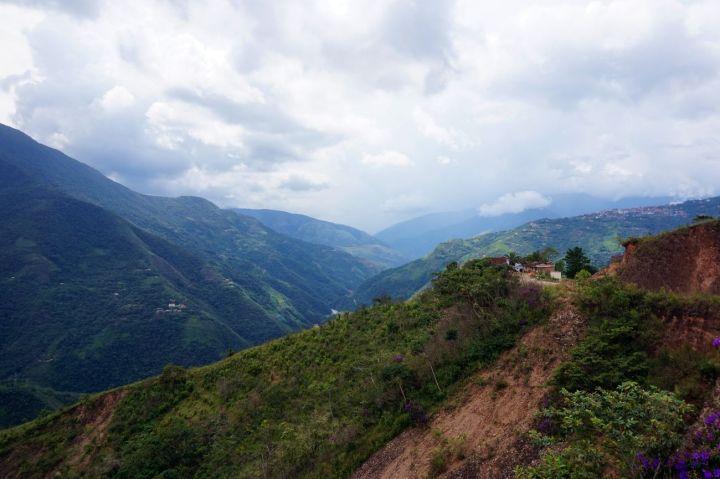 Bolivie La Paz Route de la Mort Yungas 55