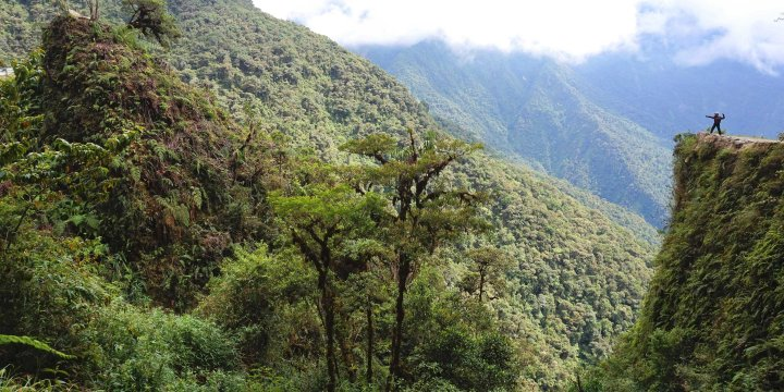 Bolivie Route de la mort Yungas La Paz