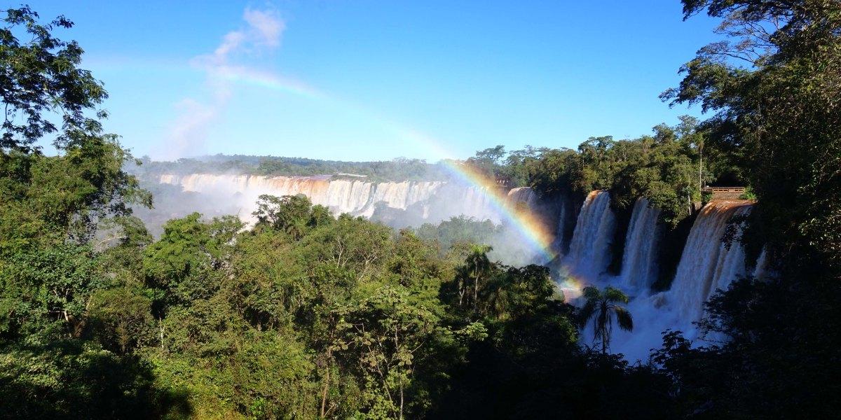 Chutes d'Iguaçu : gare aux éclaboussures !