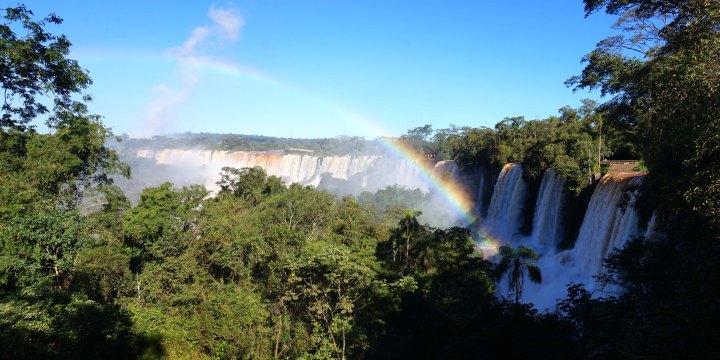 Bresil Argentine chutes d'Iguacu